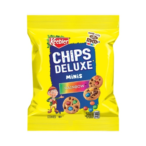 Keebler M&M Chips Deluxe Mini Rainbow 3oz