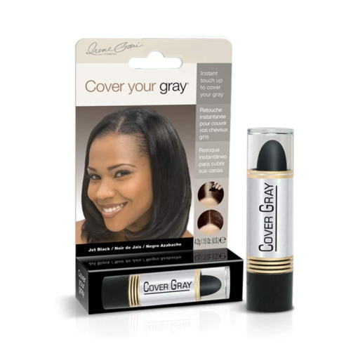 Cover Your Grey Stick Jet Black