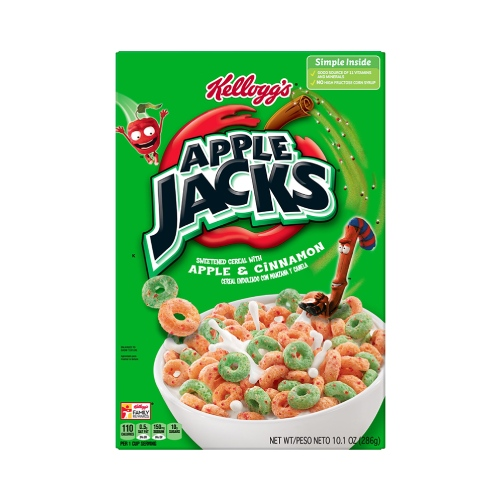 Kelloggs Apple Jacks 10.1oz