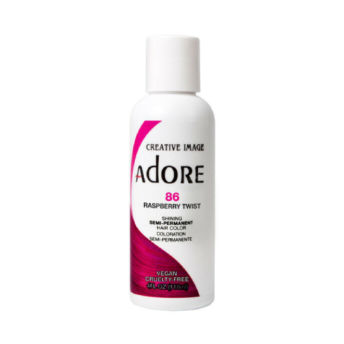 Adore Semi Hair Color 4oz No. 86 Raspberry Twist