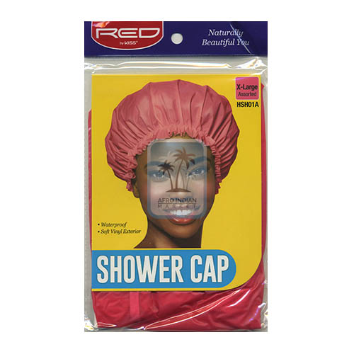 Red By Kiss Shower Cap X-Large No. HSH01A Pink
