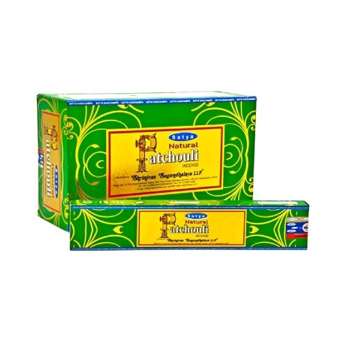 Satya Natural Patchouli Incense Stick 15gr